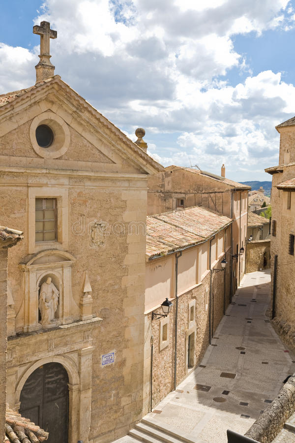 Convent, Cuenca stock photography