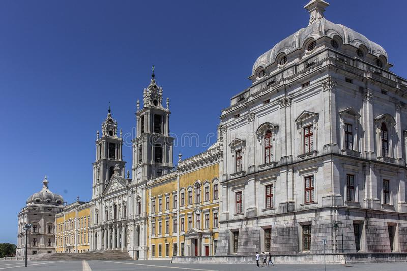 The Convent of Mafra stock photos