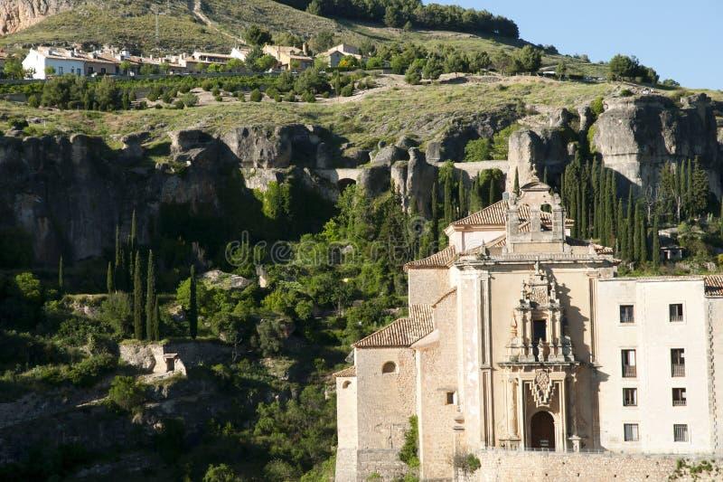 Convent of Saint Paul - Cuenca - Spain stock photos