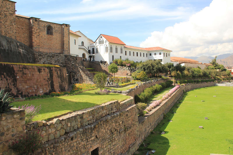Convent of Santo Domingo, Cusco stock image