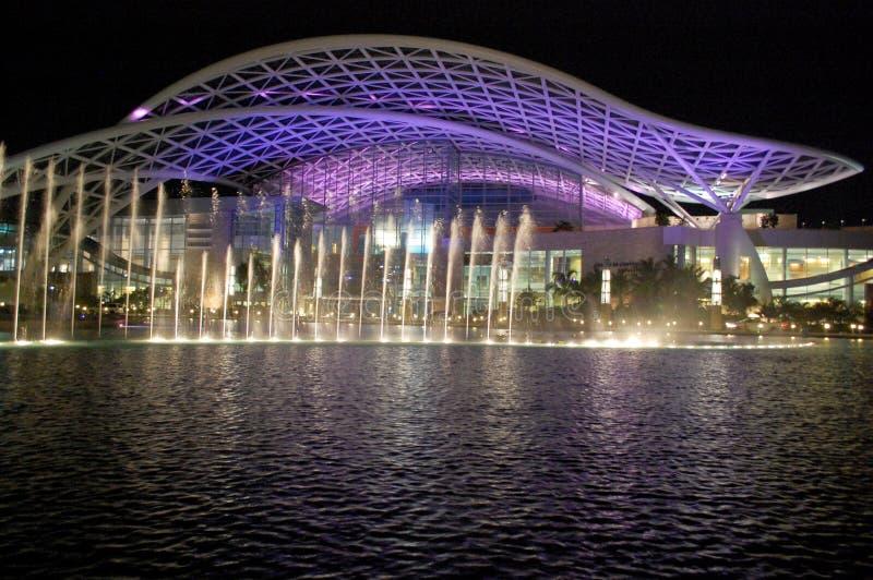 Convention Center foto de archivo