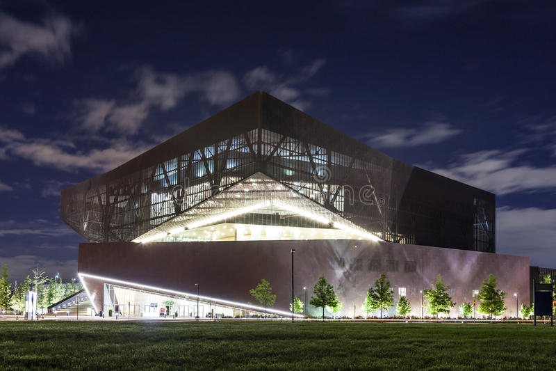 Convention Center em Irving, Texas fotografia de stock