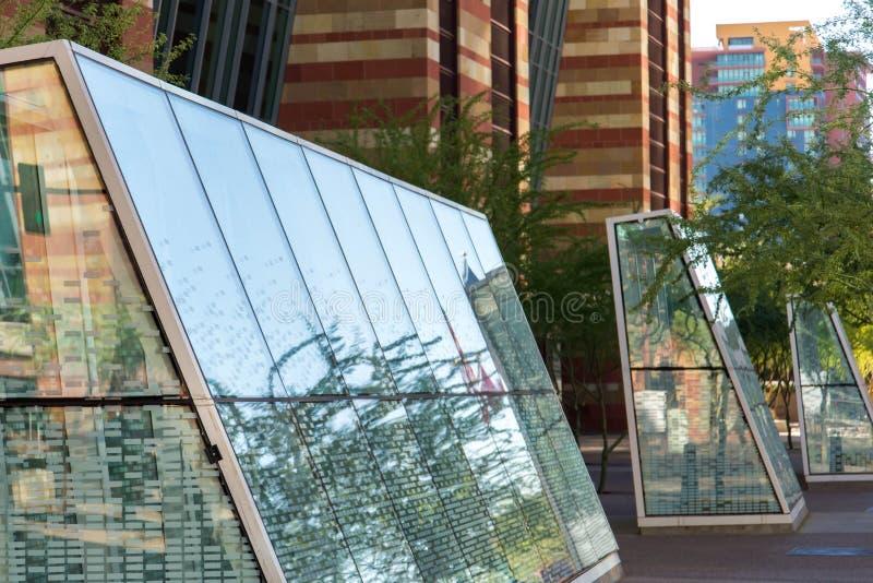 Convention Center exterior em Phoenix, AZ imagem de stock royalty free