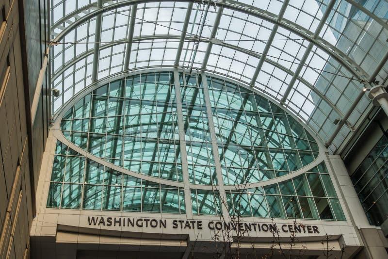Convention Center -Glas stock afbeeldingen