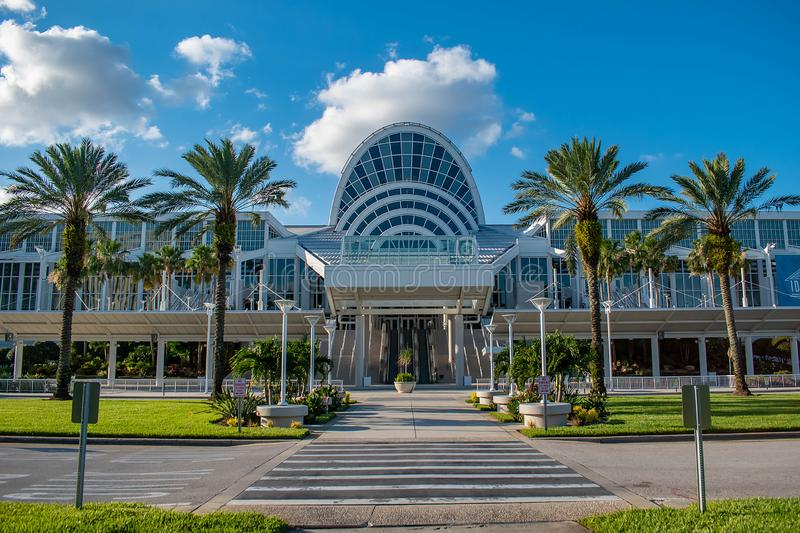 Convention Center in International Drive area 91. Orlando, Florida. May 23, 2019. Convention Center in International Drive area 91 royalty free stock photography