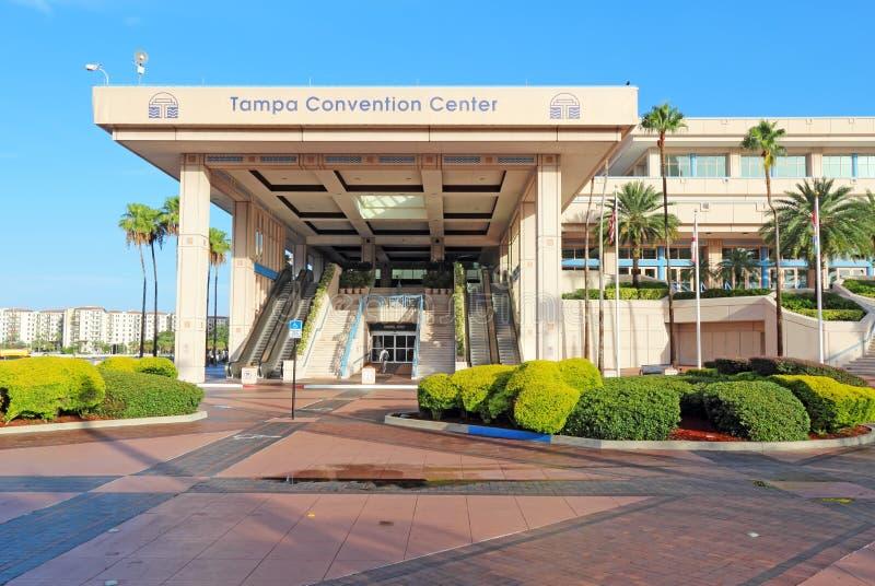 Convention Center w w centrum Tampa, Floryda obraz royalty free