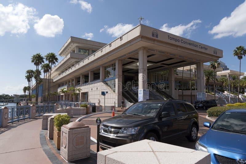 Convention Center w w centrum Tampa usa obrazy stock