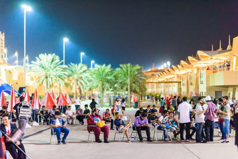 Convention 2015 d'allumage Bahrain photographie stock libre de droits