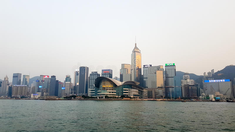 Convention de Hong Kong image libre de droits