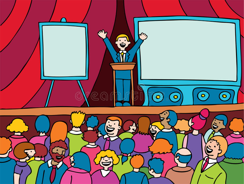 Download Convention Event stock vector. Image of board, convention - 9569272