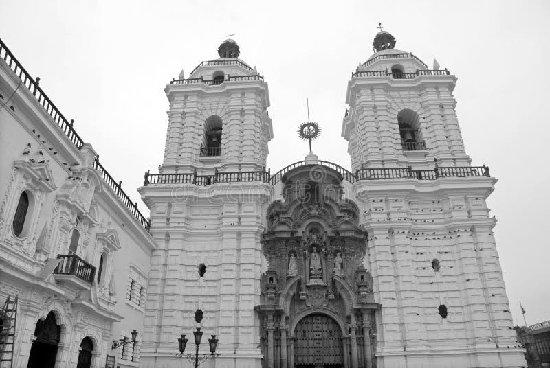 Convento de Сан-Франциско стоковые фотографии rf