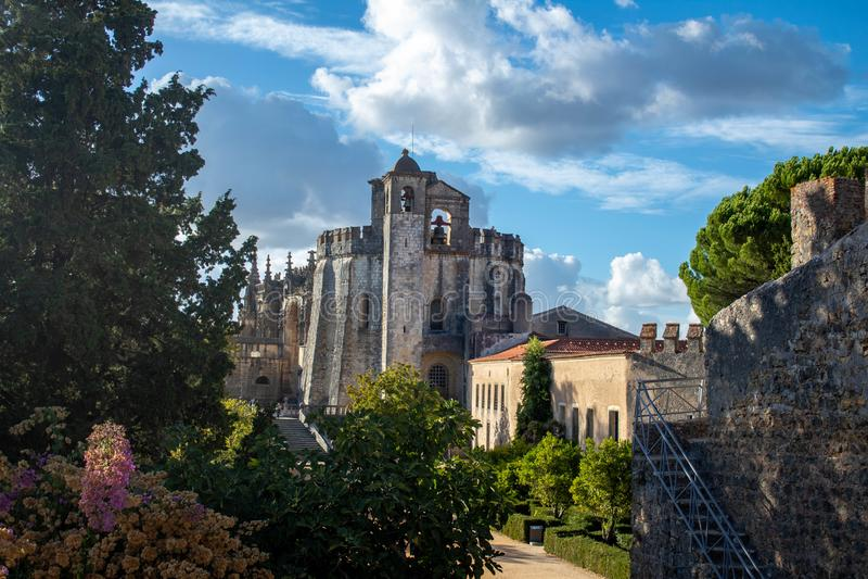 Convento de Christo arkivfoton