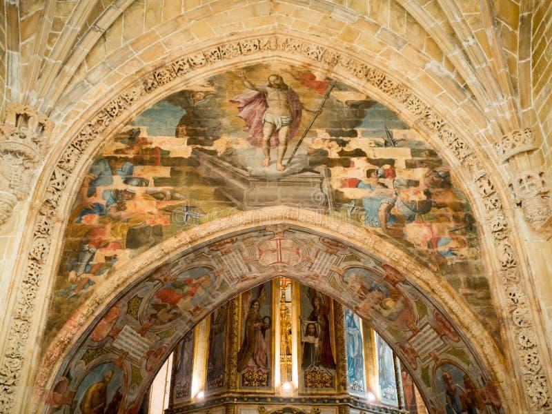 Convento de Cristo foto de archivo