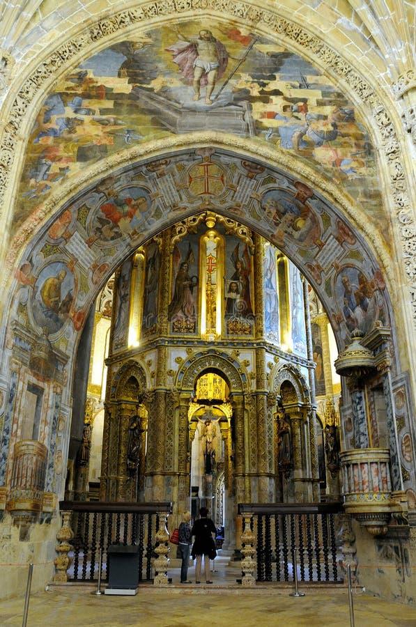 Convento de Cristo imagen de archivo libre de regalías