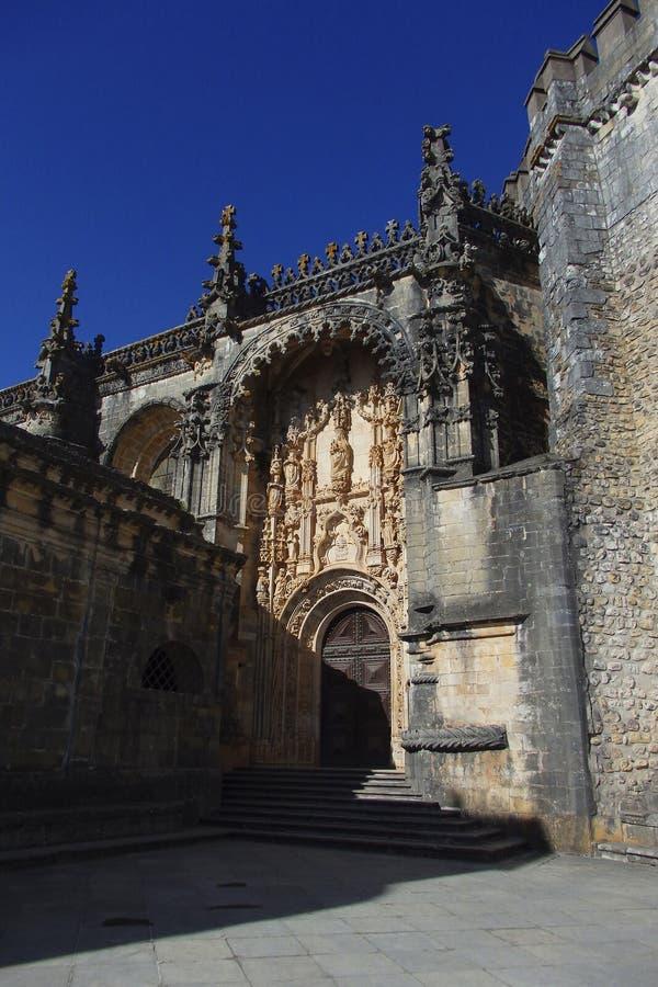 Convento de Cristo Tomar foto de archivo libre de regalías