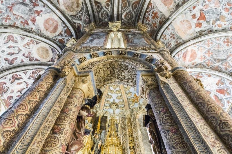 Convento de Cristo, Tomar, Portugal imagen de archivo libre de regalías