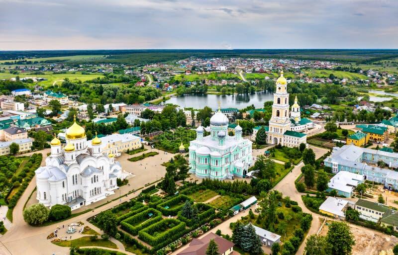 Convento de Diveyevo em Nizhny Novgorod Oblast, Rússia imagem de stock royalty free
