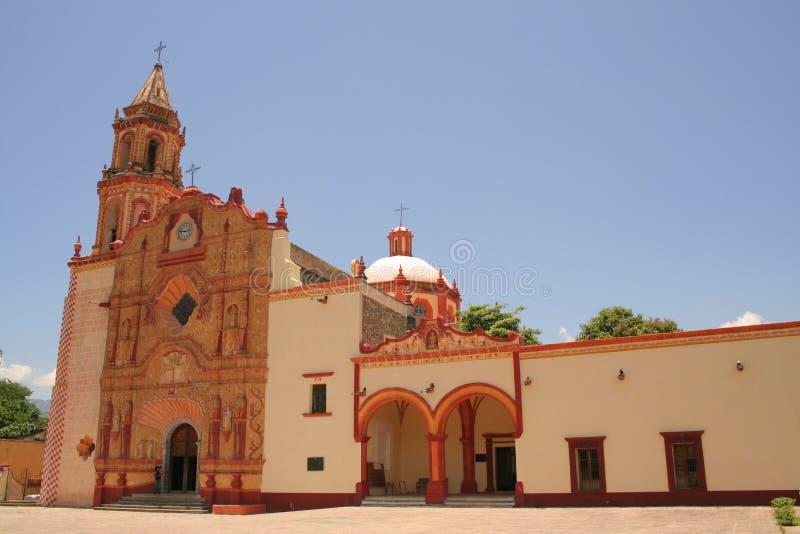 Convento de Jalpan de serra foto de stock
