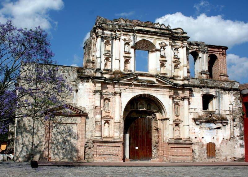 Convento de la Compania de Jesus stock photos