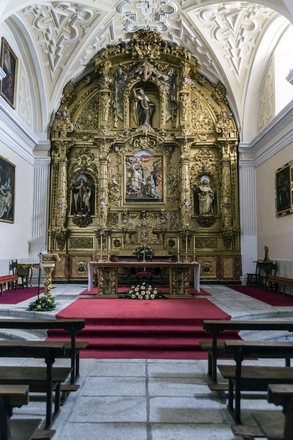 Convento de la Encarnacion är en kloster av den Carmelite nunnaclosinen arkivfoton