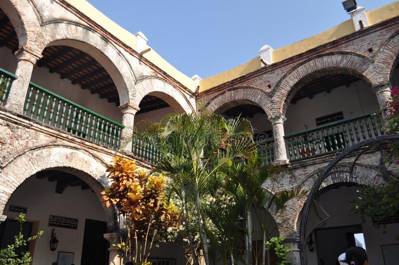 Convento de la Popa, Cartagena, Colombia royaltyfria foton