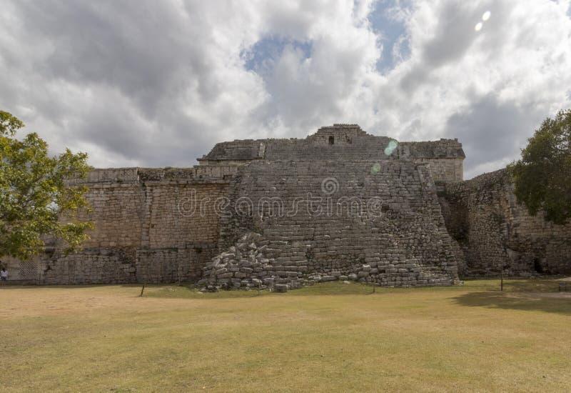 Convento de monjas maya en Chichen Itza fotos de archivo