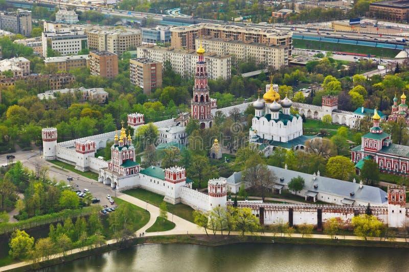 Convento de Novodevichiy en Moscú, Rusia foto de archivo