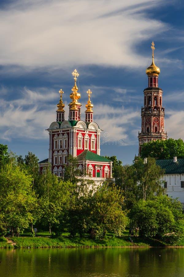 Convento de Novodevichy imagen de archivo libre de regalías