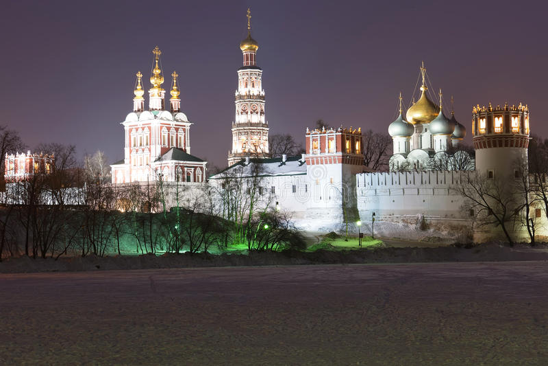 Convento de Novodevichy fotos de archivo libres de regalías