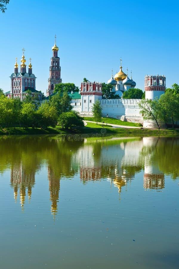 Convento de Novodevichy imágenes de archivo libres de regalías