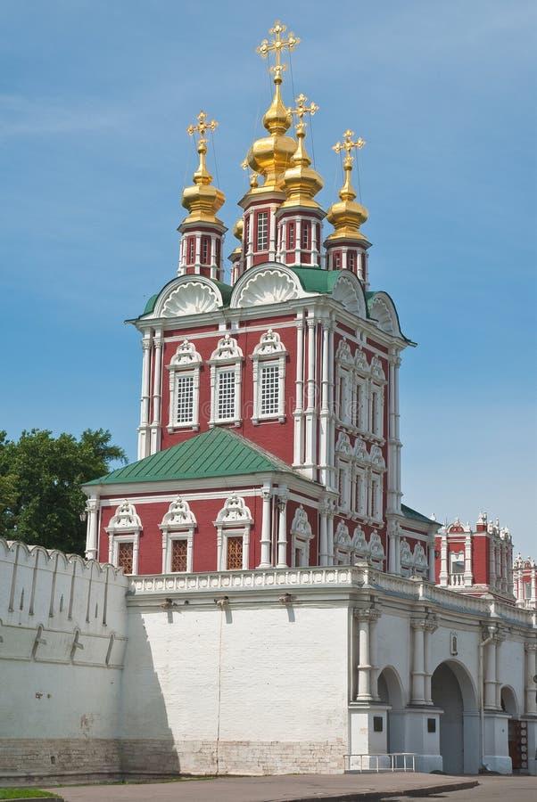Download Convento De Novodevichy Em Moscovo Imagem de Stock - Imagem de entrada, basilica: 26509251