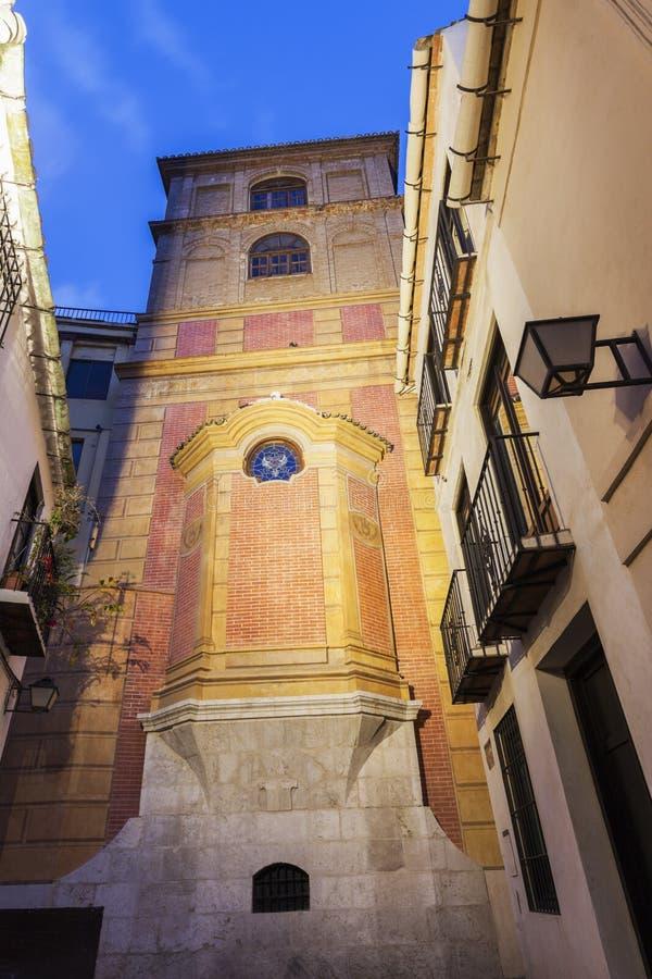 Convento de San Agustin em Malaga fotos de stock royalty free