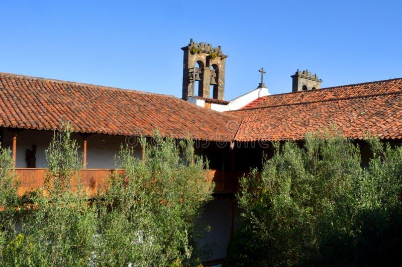 Convento de San Agustin imagem de stock royalty free