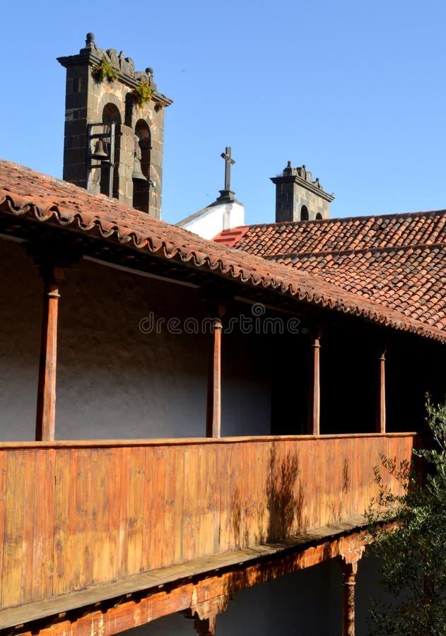 Convento de San Agustin imagem de stock