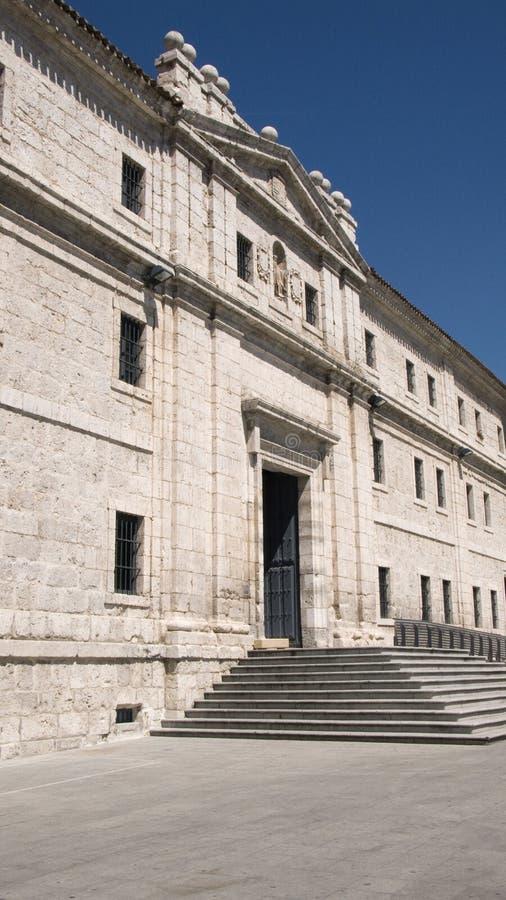 Convento de San Benito. Valladolid. Spain. stock images