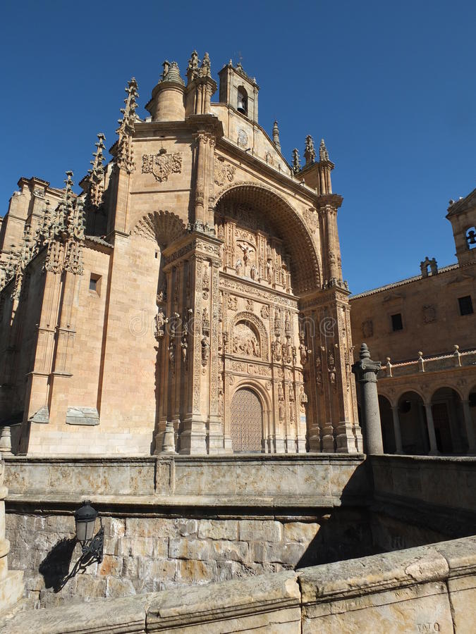 Convento de San Esteban stockbild