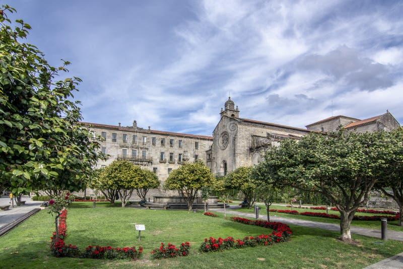 Convento de San Francisco no centro histórico da cidade de P imagem de stock