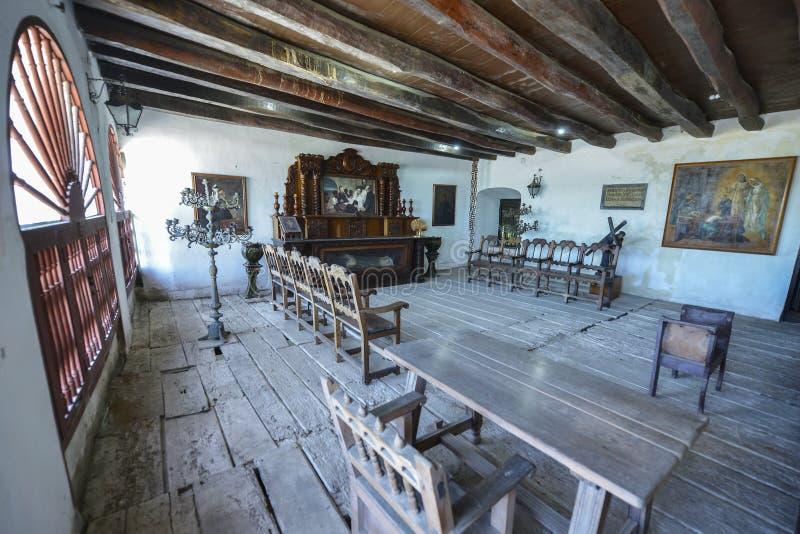 Convento de San Pedro Claver em Cartagena, Colômbia fotografia de stock