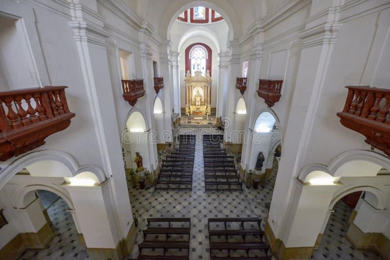 Convento de San Pedro Claver em Cartagena, Colômbia foto de stock royalty free