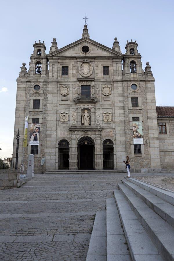 Convento de Santa Teresa, Ávila fotografía de archivo