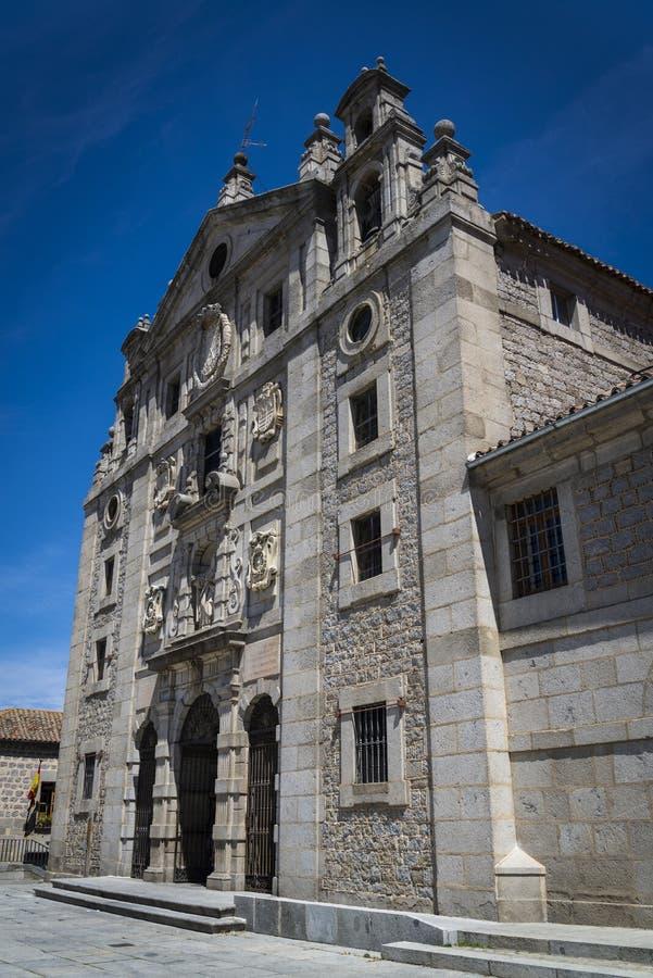Convento de Santa Teresa, Avila, Castilla y Leon, Hiszpania zdjęcia royalty free