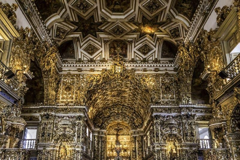 Convento de Sao Francisco royaltyfri bild