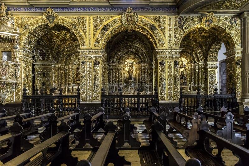 Convento de Sao Francisco arkivfoto