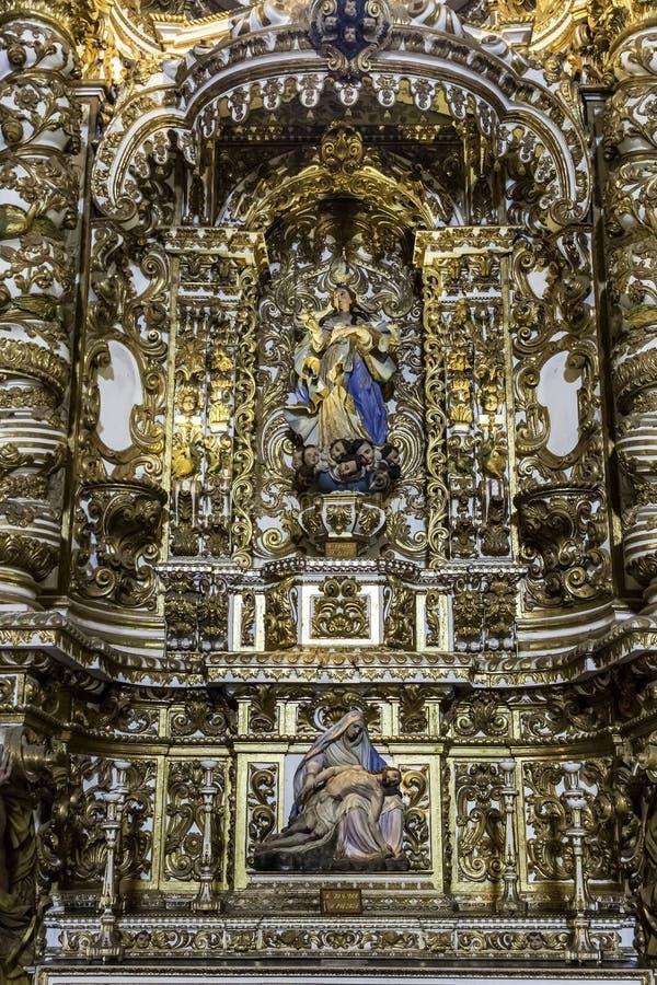 Convento de Sao Francisco стоковое изображение rf