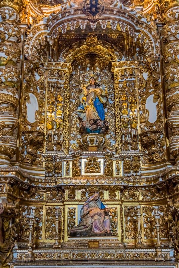 Convento de Sao Francisco stock photography