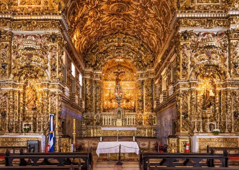 Convento de Sao Francisco royalty free stock photo