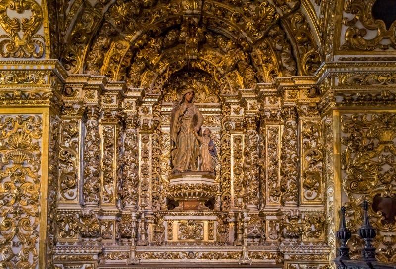 Convento de Sao Francisco Church fotografering för bildbyråer