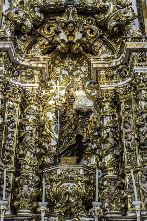 Convento de Sao Francisco royalty free stock photography