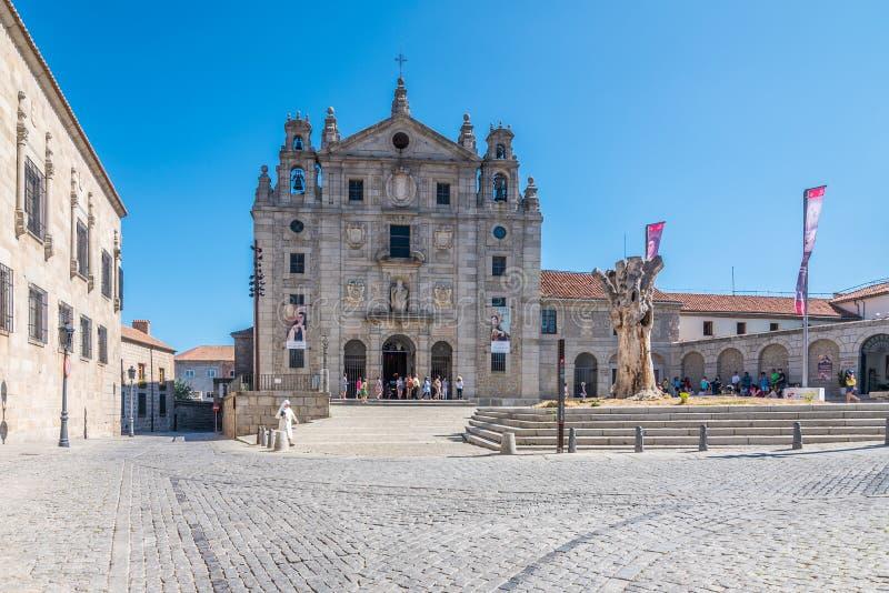Convento de St Teresa, Convento de Santa Teresa de Jesús, Ávila, España, España foto de archivo