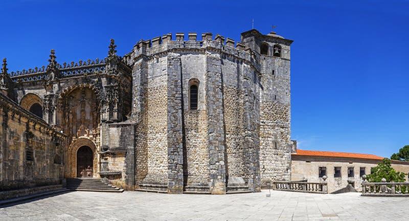 Convento de Templar de Cristo en Tomar fotos de archivo libres de regalías